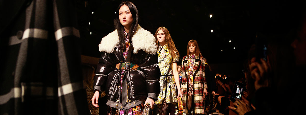 Burberry Womenswear February 2016 Collection