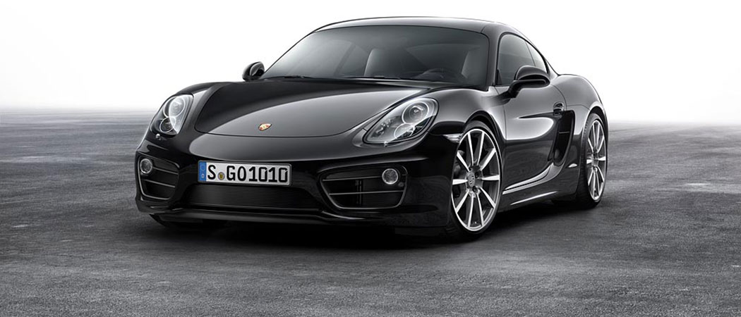New special edition in elegant black: Porsche Cayman Black Edition