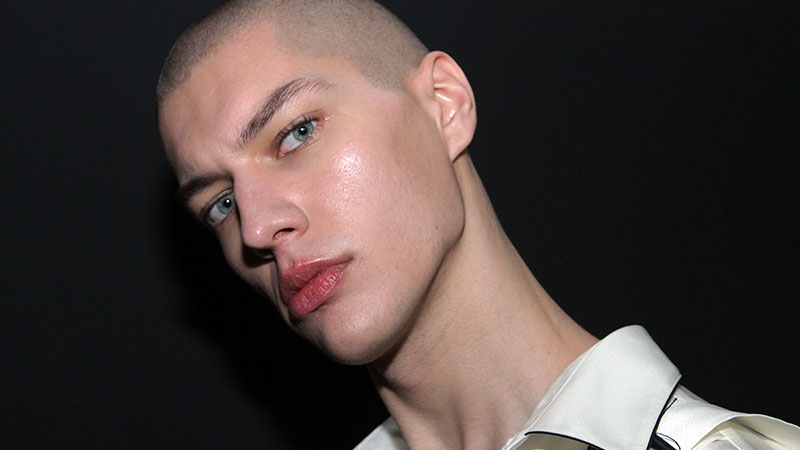 Models backstage at the Bed J.W. Ford Fall Winter 2019 2020 Show - Photo Charlotte Mesman