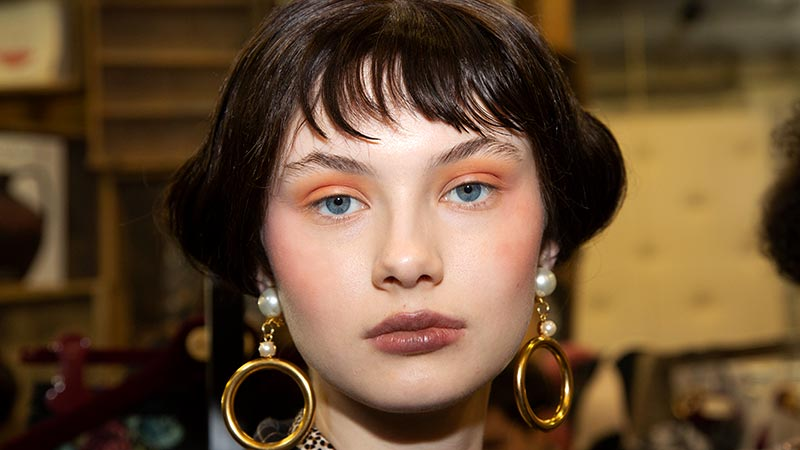 Makeup Trends Fall 2020.New Make Up Trends Pink And Orange Makeup With Tom Pecheux