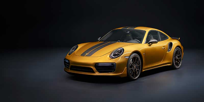 A rarity with increased power and luxury: the new 911 Turbo S Exclusive Series