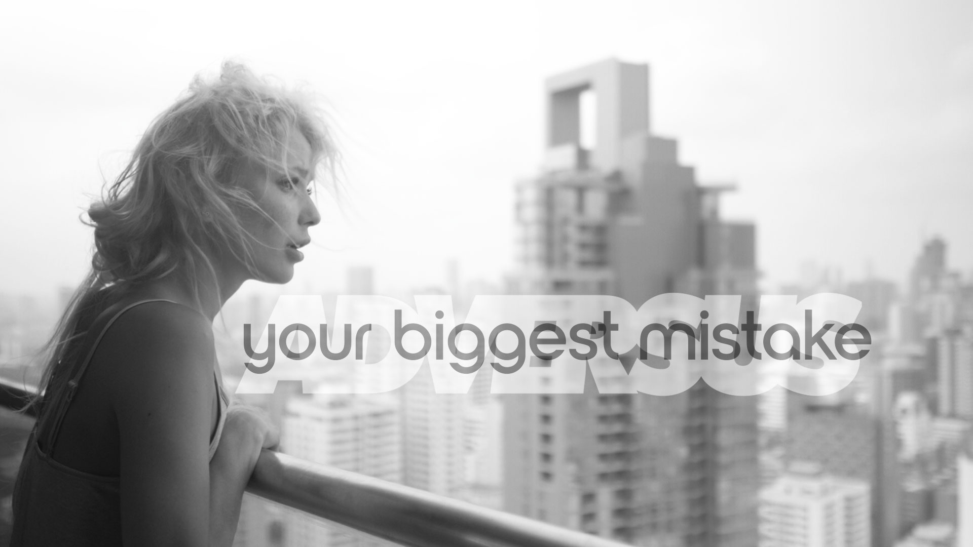 Your biggest mistake. A short movie with Olga Novoselova